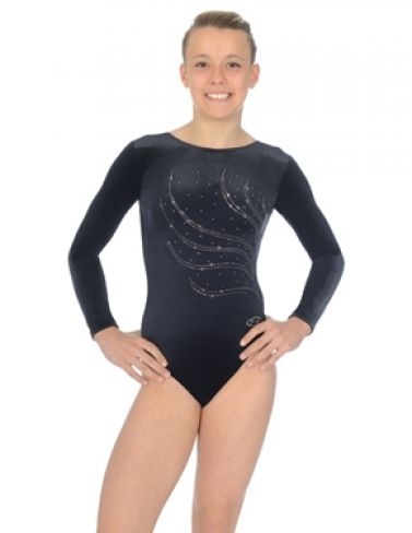 Tiara Long Sleeved Gymnastics Leotard - The Zone Z102TIA