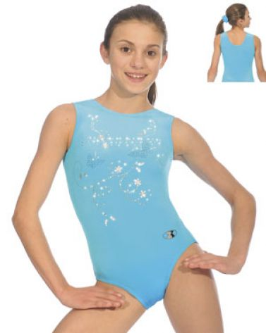 Panache Kingfisher Sleeveless Gymnastics Leotard
