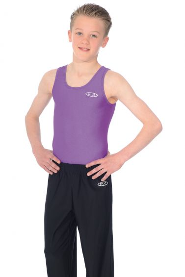 The Zone Z119 Mens & Boys Sleeveless Gymnastics Leotard