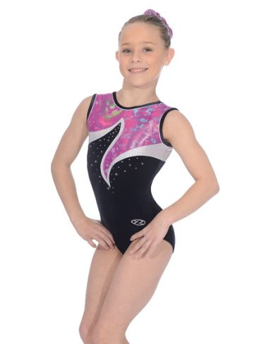 Orchid Sleeveless Gymnastics Leotard - Z392ORC