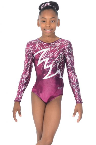 Electra Long Sleeved Gymnastics Leotard - The Zone Z398ELE