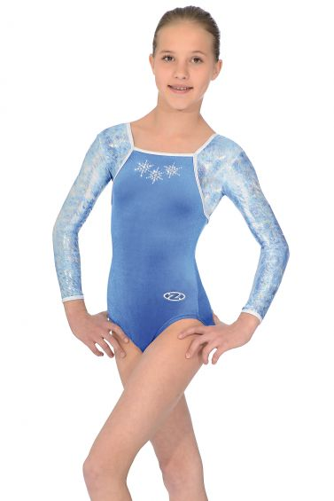 Angel Long Sleeved Gymnastics Leotard - The Zone Z402ANGEL