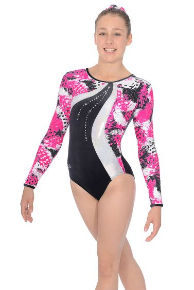 Carnival Long Sleeved Gymnastics Leotard - Z412CAR