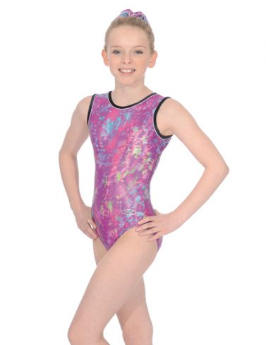 Orchid Sleeveless Gymnastics Leotard - The Zone Z943ORC