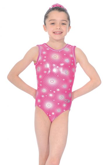 Zodiac Sleeveless Gymnastics Leotard - The Zone Z943ZOD