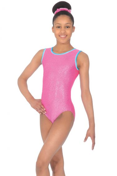 Charmed Sleeveless Gymnastics Leotard - Z943CHA
