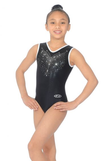 Flyte Sleeveless Gymnastics Leotard - The Zone Z466FLY