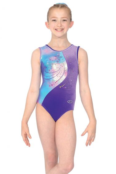Gemini Sleeveless Gymnastics Leotard - The Zone Z458GEM