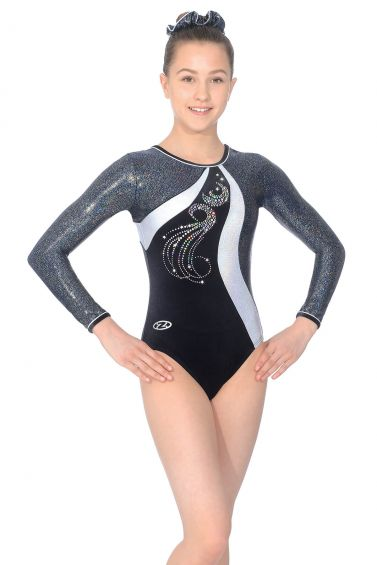 Glitz Long Sleeve Gymnastics Leotard - Z463GLI