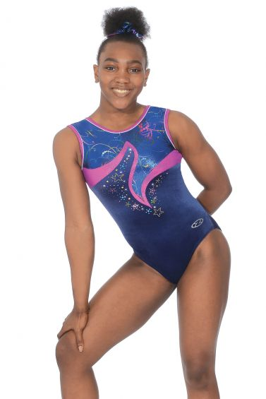 Madison Sleeveless Gymnastics Leotard - Z456MAD