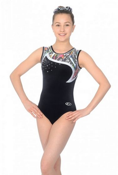 Pandora Sleeveless Gymnastics Leotard - Z460PAN