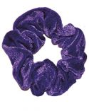 Scrunchie in Sapphire Smooth Velour