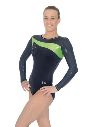 Icon Lime Long Sleeve Gymnastics Leotard