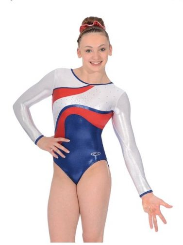 Merit Long Sleeved Gymnastics Leotard - The Zone Z365MER