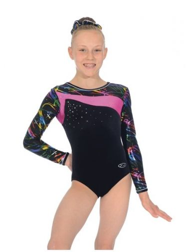 Macy Long Sleeved Gymnastics Leotard - Z379MAC