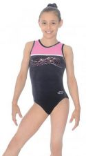 Neon Sleeveless Gymnastics Leotard