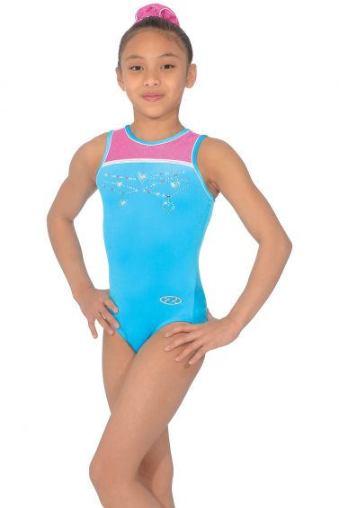 Charmed Sleeveless Gymnastics Leotard - Z448CHA