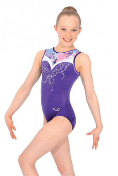 Zen Sleeveless Gymnastics Leotard