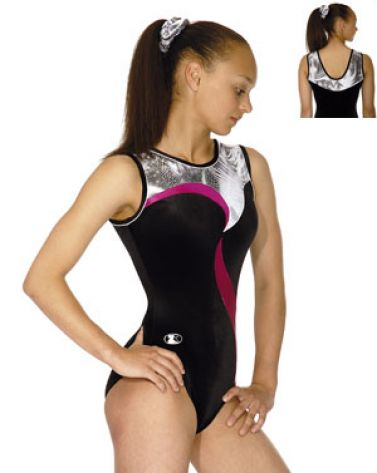 Sleeveless Round Neck Gymnastics Leotard - Sophie 2011