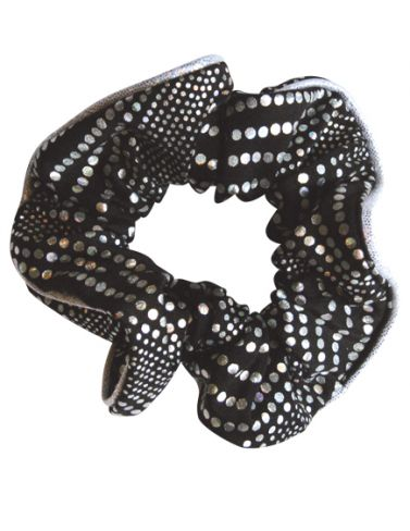 Black Charisma Hair Scrunchies