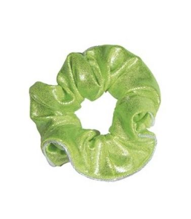 Lime Icon Hair Print Scrunchie