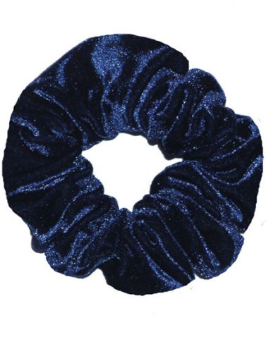 Spirit Navy Hair Scrunchies