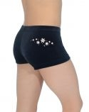 Velour Hipster Gymnastics Shorts Z2000STAR