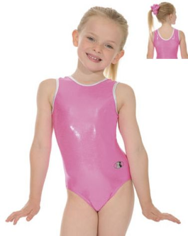 7439a3763d9b17 Glam Cerise Sleeveless Gymnastics Leotard, Nylon Lycra Print Leotards