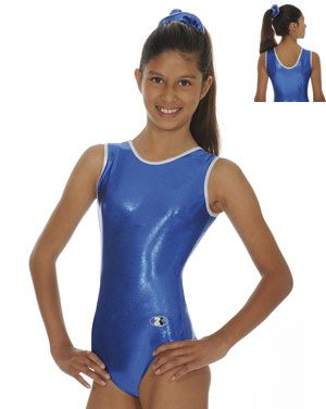 Glam Royal Sleeveless Gymnastics Leotard