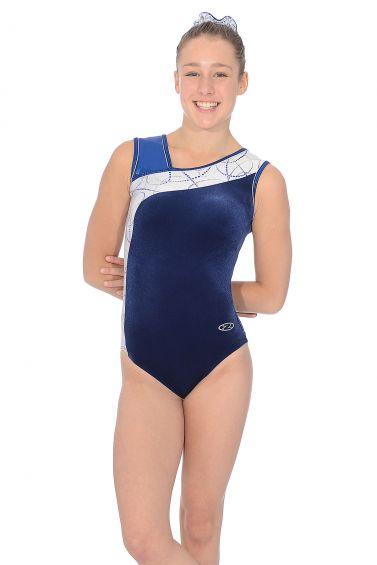 Galaxy Sleeveless Gymnastics Leotard - Z416GAL