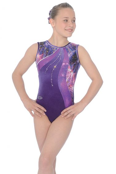 Twilight Sleeveless Gymnastics Leotard - The Zone Z429TWI