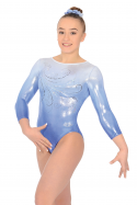 Enchanted 3/4 Length Sleeve Gymnastics Leotard - The Zone Z469ENC