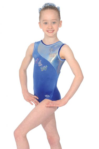 0b047047e773 Flair Sleeveless Gymnastics Leotard - The Zone Z462FLA