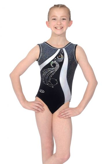 Glitz Sleeveless Gymnastics Leotard - Z464GLI