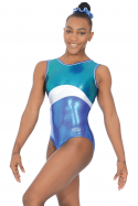 Solo Sleeveless Gymnastics Leotard - The Zone Z468SOL
