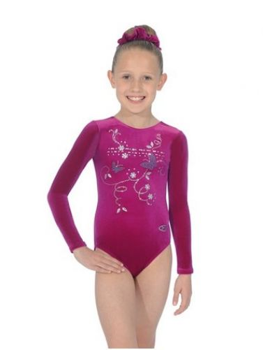 Panache Long Sleeved Gymnastics Leotard - The Zone Z102PAN