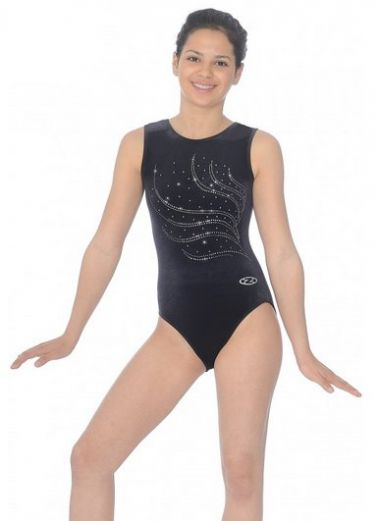 Tiara Sleeveless Gymnastics Leotard - The Zone Z103TIA