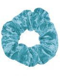 Scrunchie in Kingfisher Crushed Velvet