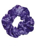 Scrunchie in Purple Crushed Velvet
