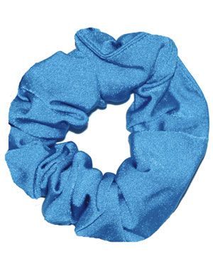 Kingfisher Scrunchie in Nylon Lycra
