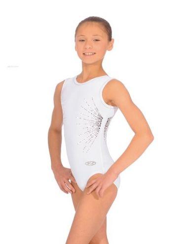 White Gymnastic Leotards