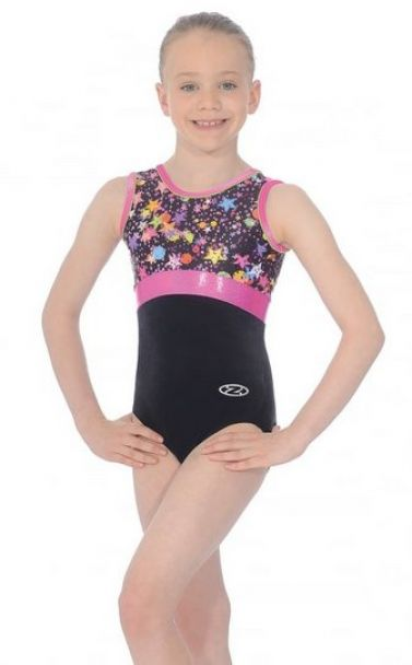 Bubbles Sleeveless Gymnastics Leotard - The Zone Z434BUB