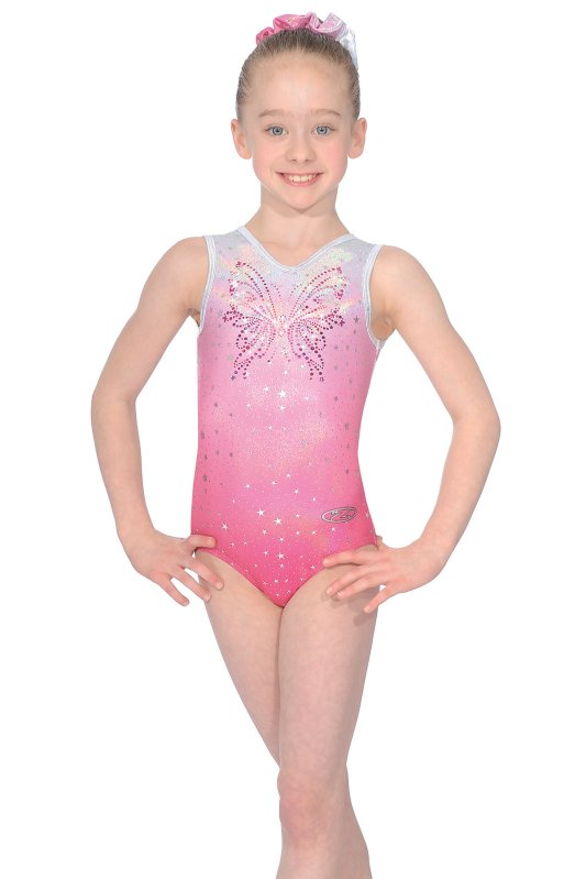 Soda Sleeveless Gymnastics Leotard - The Zone Z440SODA