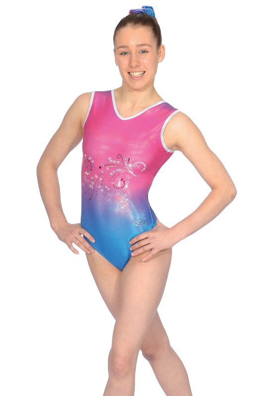 Vienna Sleeveless Gymnastics Leotard - The Zone Z444VIE